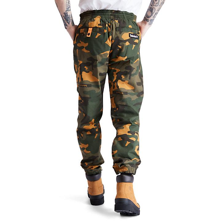 Pantalon de survêtement utilitaire pour homme en vert-