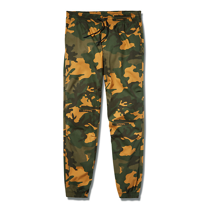 Utility Tracksuit Bottoms for Men in Green-