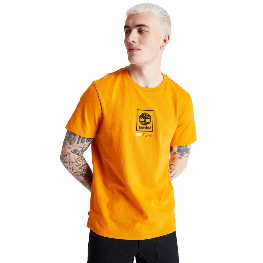 T-shirt À Logo Arbre Carré En , Taille XL - Timberland - Modalova
