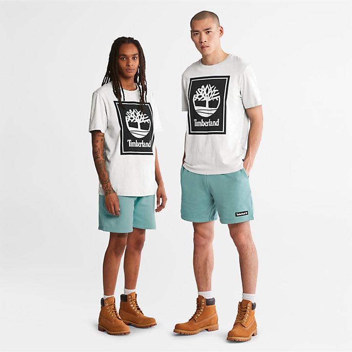 T-Shirt mit Logo für Herren in Weiß-