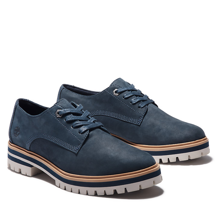 Oxford London Square pour femme en bleu marine-