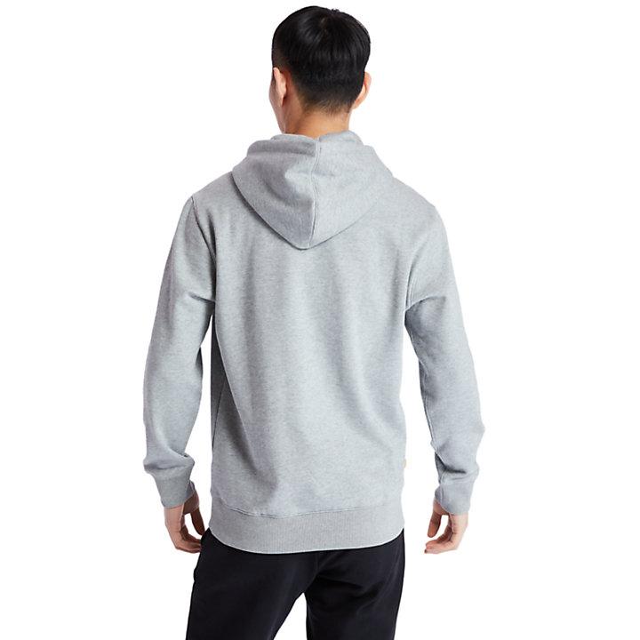 Sudadera con Capucha y logotipo de Árbol para Hombre en gris-