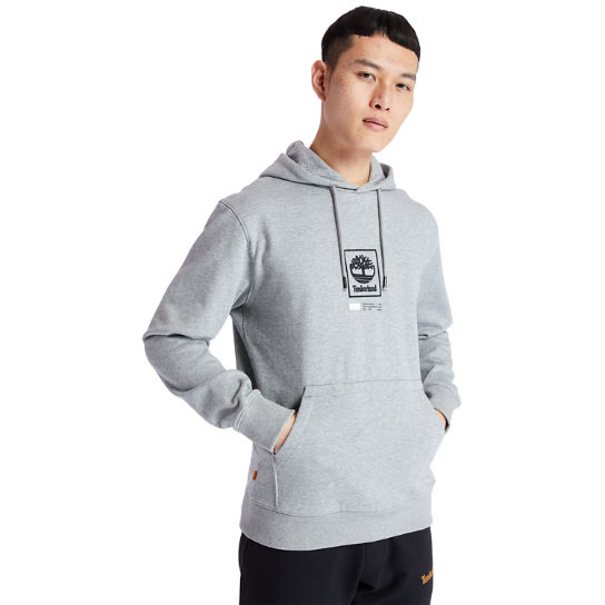 Tree Logo Hoodie for Men in Grey | Timberland