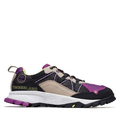 Garrison+Trail+Sneaker+for+Women+in+Black%2FPurple