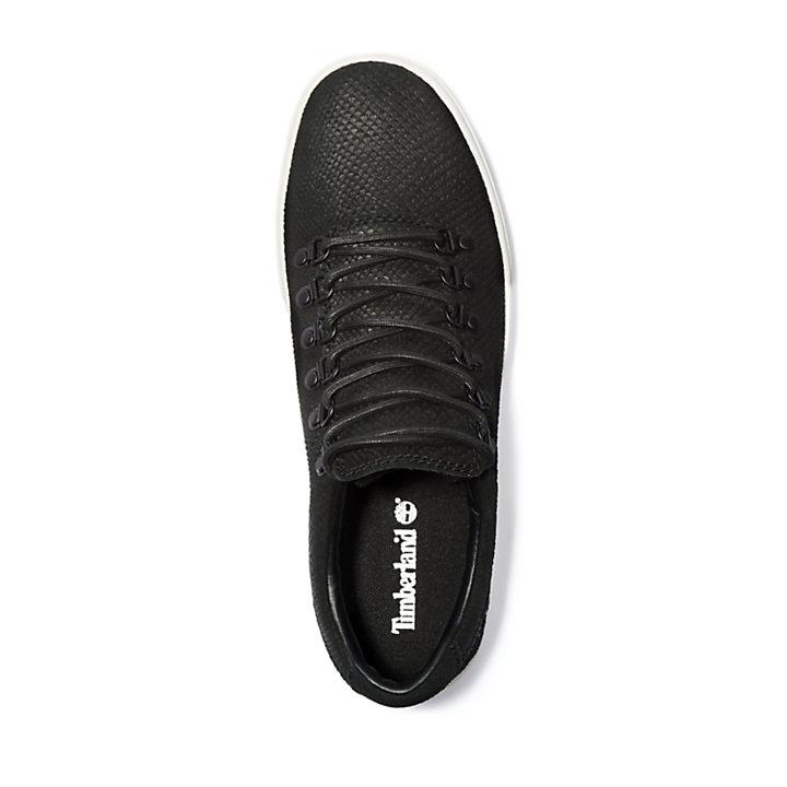 Adventure 2.0 Cupsole Alpine Sneaker for Men in Black Suede-