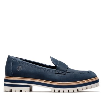 London+Square+Loafer+f%C3%BCr+Damen+in+Navyblau