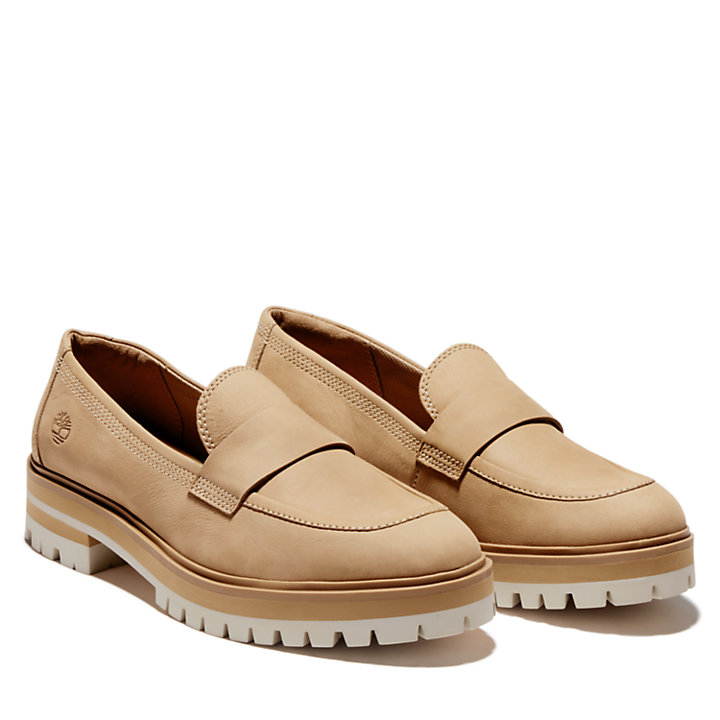 London Square Loafer für Damen in Beige-