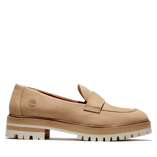 London Square Loafer for Women in Beige | Timberland