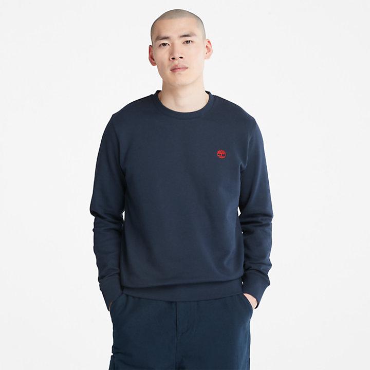 Oyster River Crew Sweatshirt for Men in Navy-