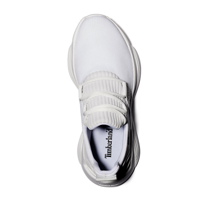 Emerald Bay Sneaker for Women in White Monochrome-