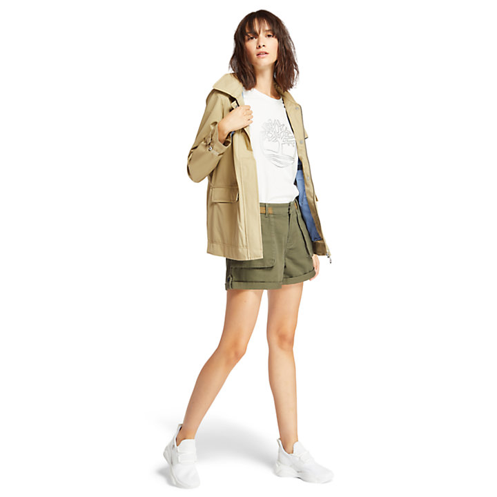 Emerald Bay Sneaker für Damen in Weiß Einfarbig-