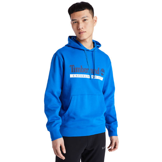 1973 Hooded Sweatshirt for Men in Blue | Timberland