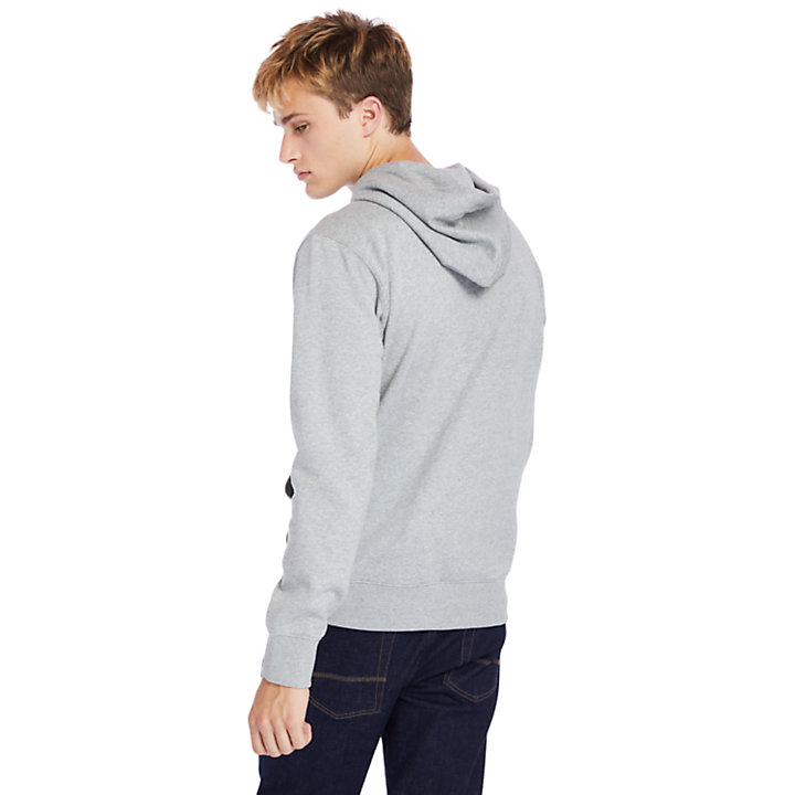1973 Hooded Sweatshirt for Men in Grey-