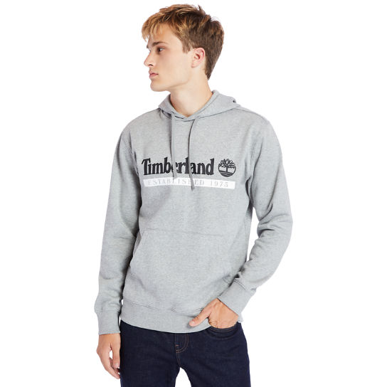 1973 Hooded Sweatshirt for Men in Grey | Timberland