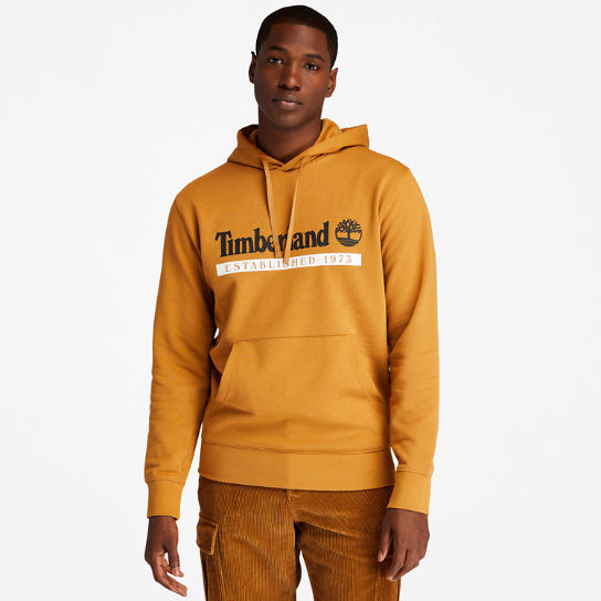 1973 Hooded Sweatshirt for Men in Yellow | Timberland