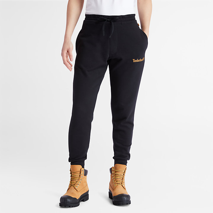 Established 1973 Sweatpants for Men in Black-