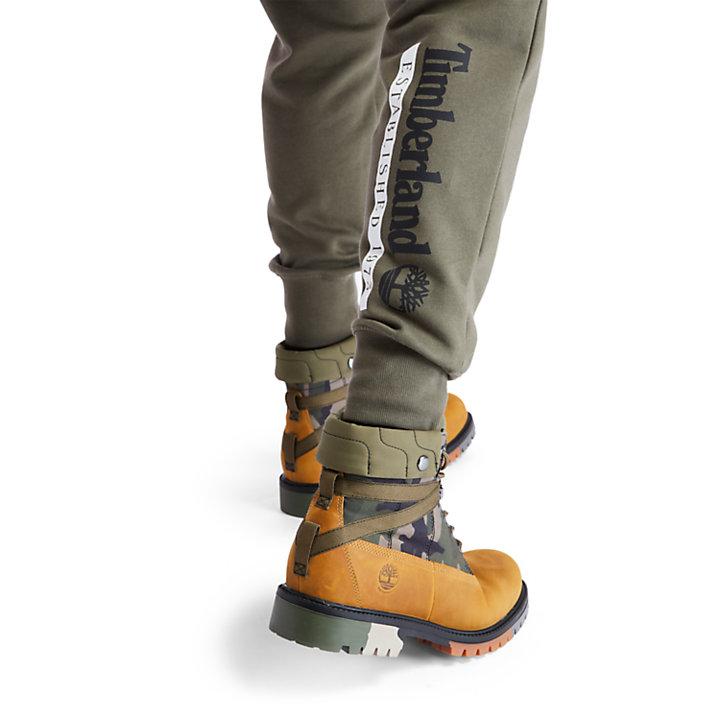Pantalon de survêtement Established 1973 pour homme en vert-