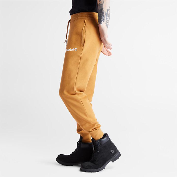 Established 1973 Sweatpants for Men in Yellow-