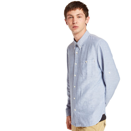 Mill River Shirt for Men in Blue | Timberland