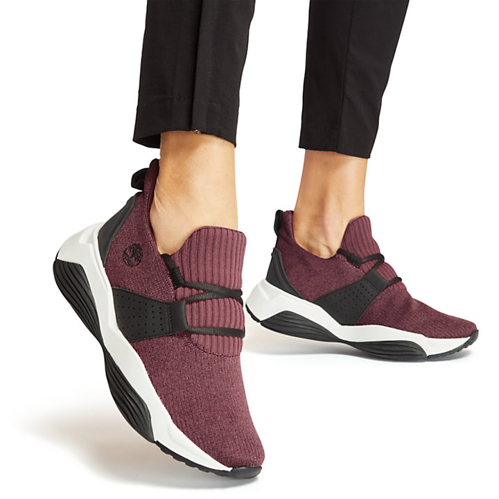 Emerald Bay Sneaker for Women in Burgundy-