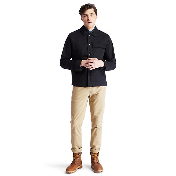 Camisa Nacoma River para Hombre en color negro-
