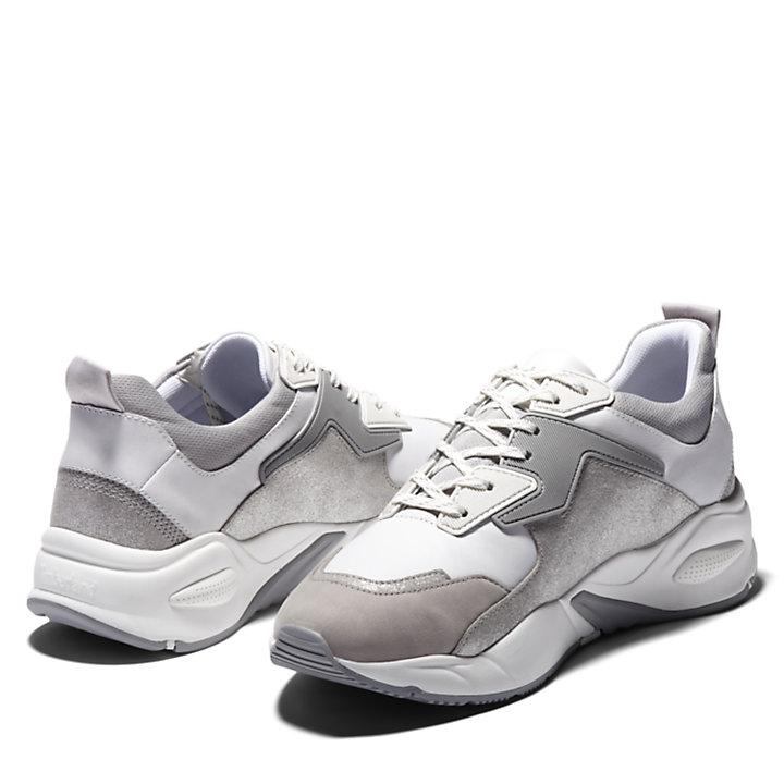 Basket Delphiville pour femme en gris-