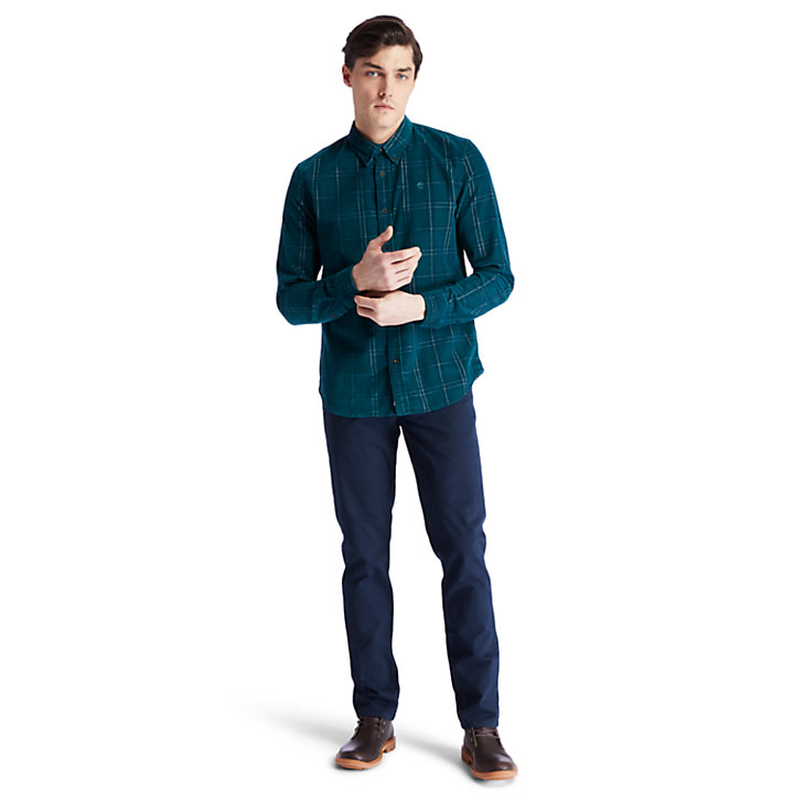 Moosilauke Brook Check Shirt for Men in Green-