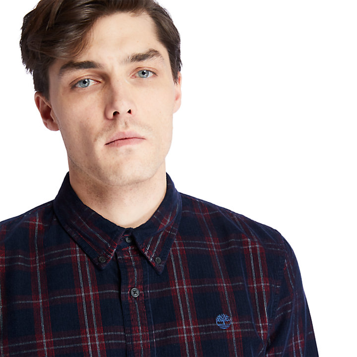 Moosilauke Brook Check Shirt for Men in Red-