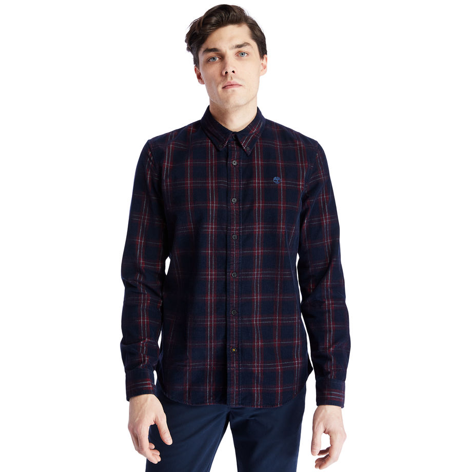 Timberland Moosilauke Brook Check Shirt For Men In Red Red, Size 3XL