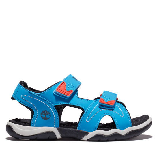 Adventure Seeker Sandal for Youth in Blue/Red | Timberland