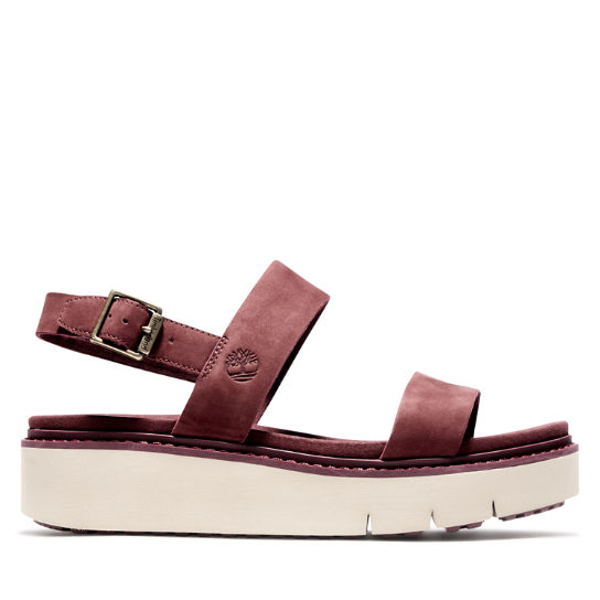 Safari Dawn Sandal for Women in Burgundy | Timberland