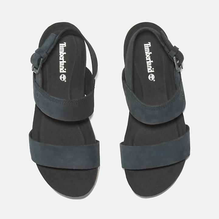 Sandalia Malibu Waves para Mujer en color negro-