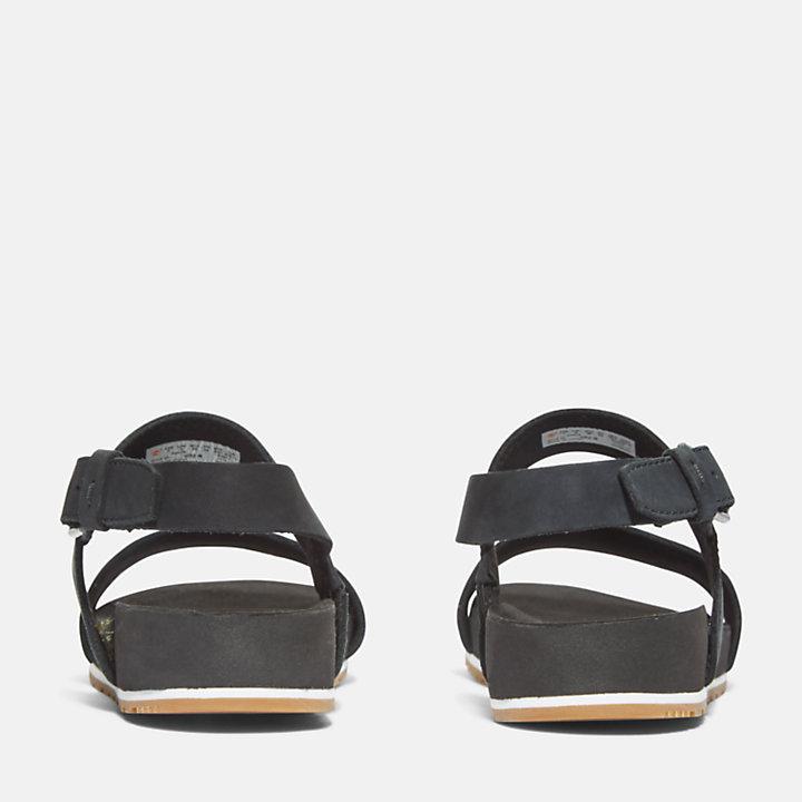 Sandalo da Donna Malibu Waves in colore nero-