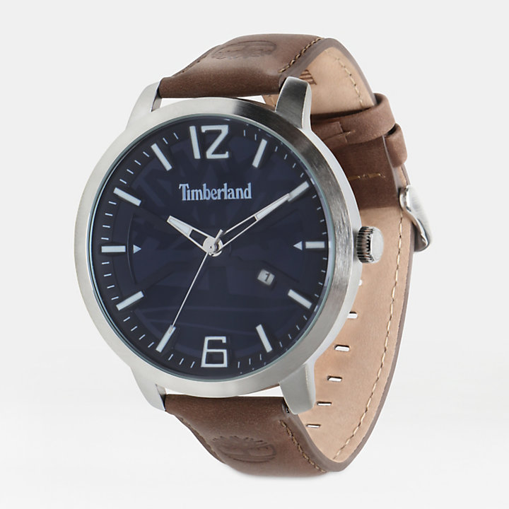 Reloj Clarksville para Hombre en azul/marrón-