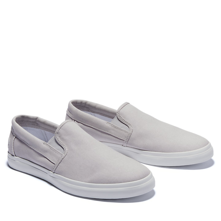 Union Wharf Slip On Trainer for Men in Grey-