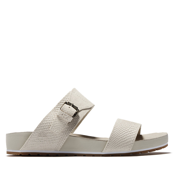 Malibu Waves 2-Band Sandal for Women in White-