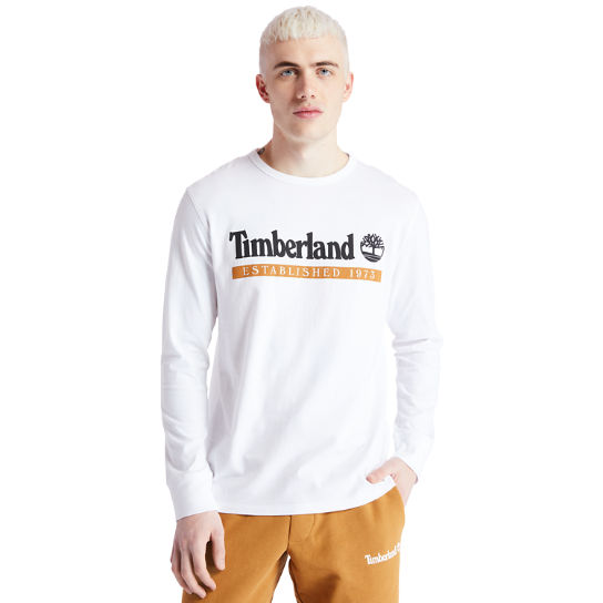 Camo Recycled Fleece Jacket for Men in White | Timberland