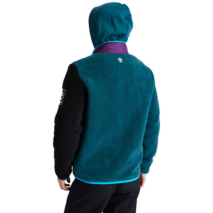 Outdoor Archive Fleece for Men in Teal-