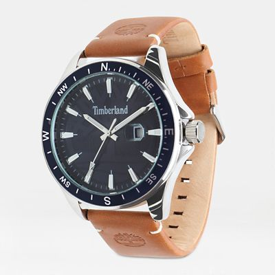 Swampscott+Watch+for+Men+in+Blue%2FTan