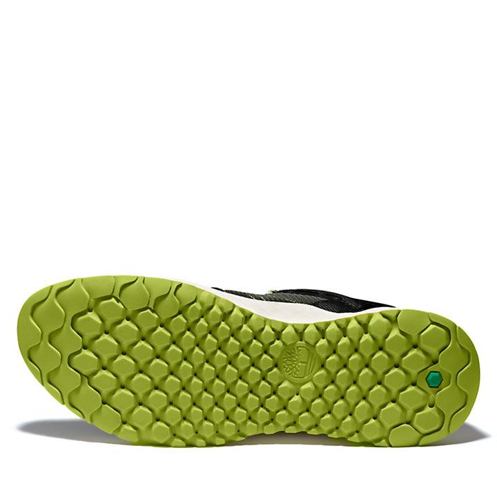 Basket en maille filet Solar Wave pour homme en vert foncé-