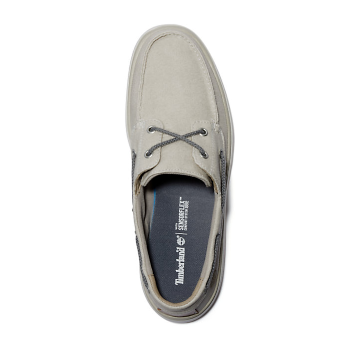Gateway Pier Boat Shoe for Men in Beige-