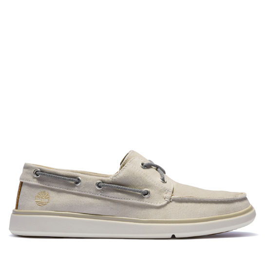 Gateway Pier Boat Shoe for Men in Beige | Timberland