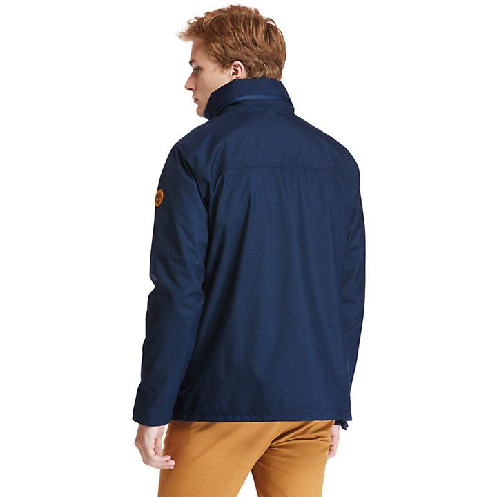 Veste Mount Crescent 3 en 1 pour homme en bleu marine-