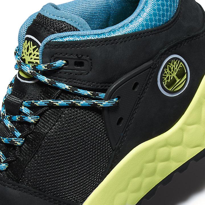 Chaussure de randonnée Solar Wave pour homme en noir/vert-