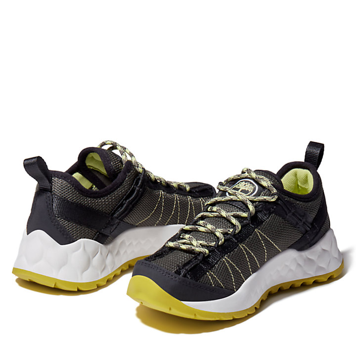 Solar Wave Hiker for Youth in Dark Green-