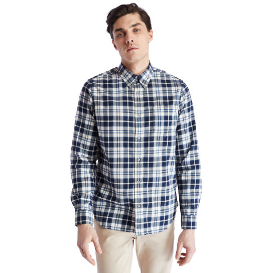 Spicket River Check Shirt for Men in Navy | Timberland