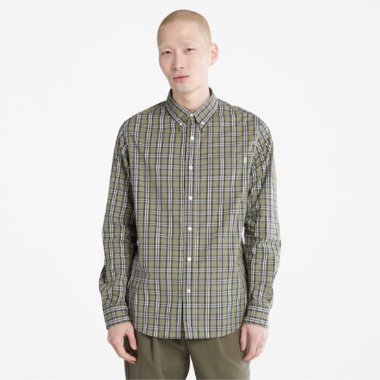 Indian River Check Shirt for Men in Green | Timberland