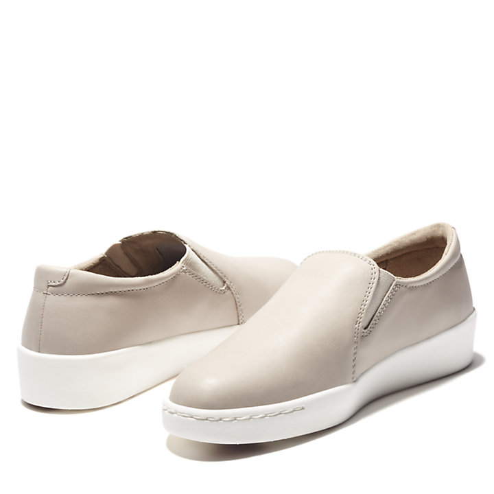 Teya Slip On Schuhe für Damen in Beige-