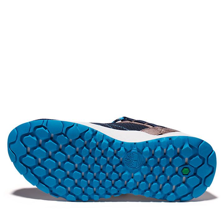 Chaussure de randonnée Solar Wave pour enfant en bleu marine-