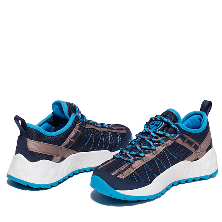 Solar Wave Hiker for Youth in Navy-